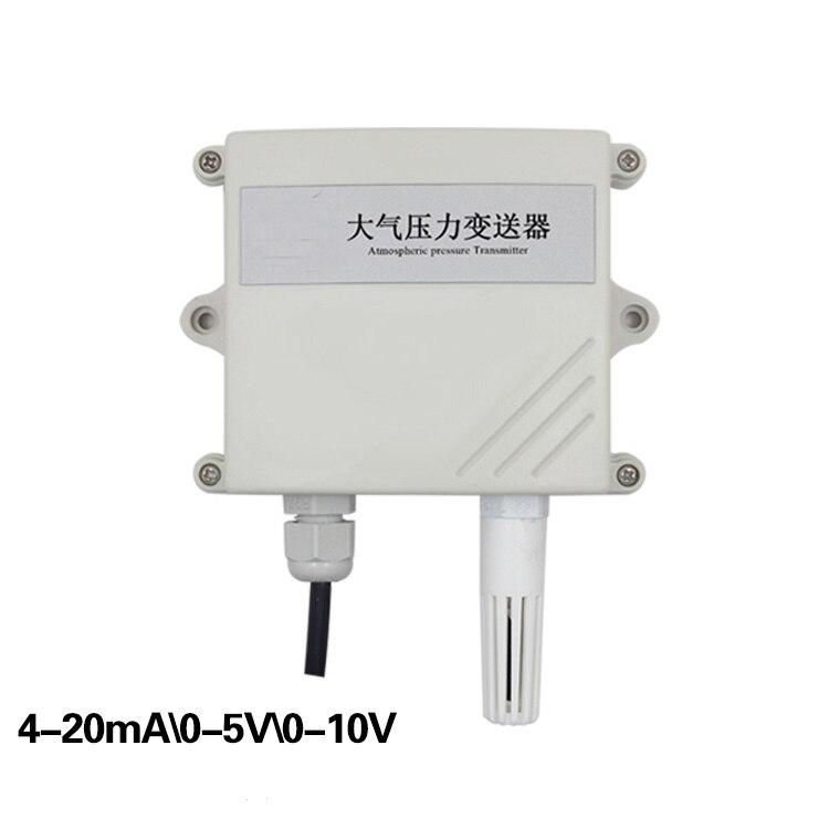 Livraison gratuite 1 pc haute précision capteur de température capteur de pression atmosphérique transmetteur 4-20mA/0-5 V/0-10 V capteur de pression