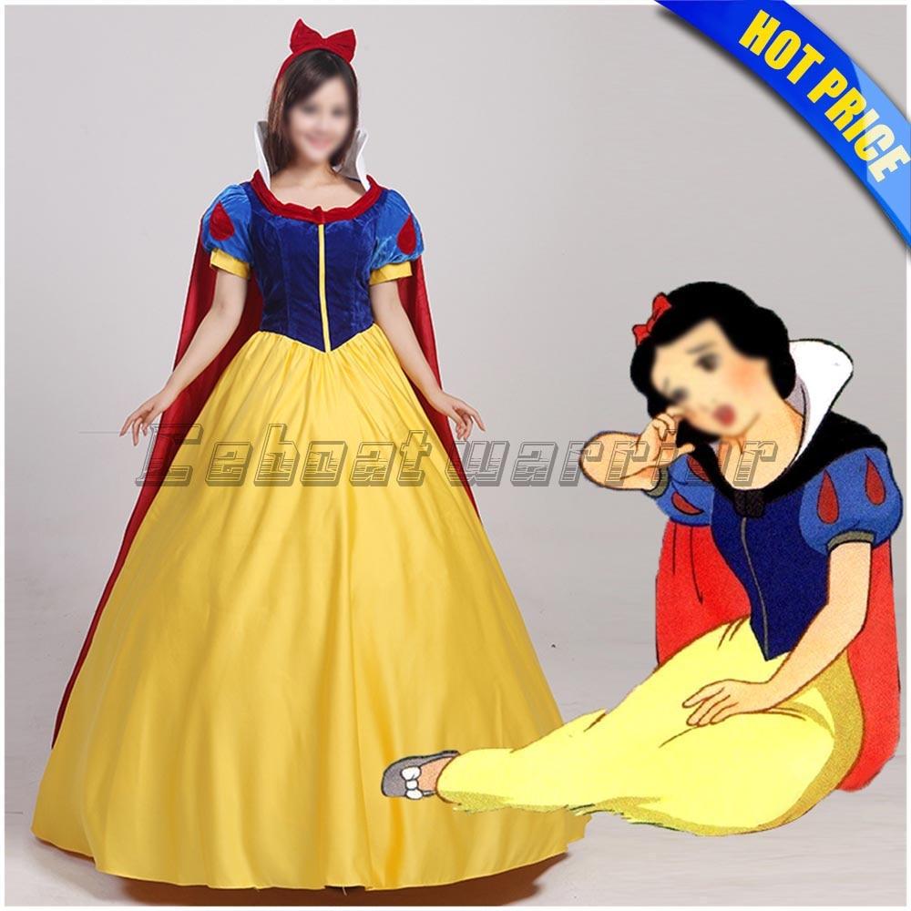 Customized Snow White Princess Cosplay Costume Snow White