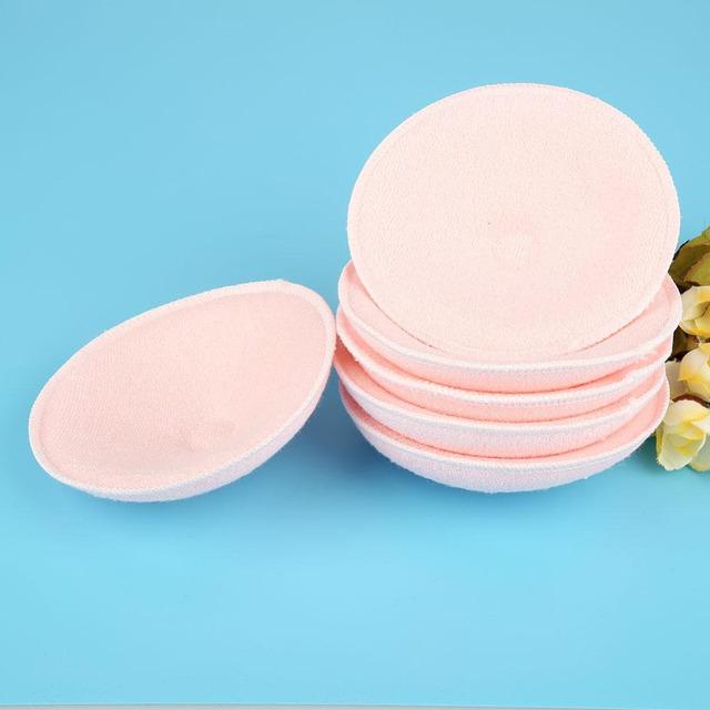 6pcs Cotton Baby Feeding Breast Pad Washable Nursing Pad Soft Reusable Nursing Anti-overflow Maternity Nursing Pad