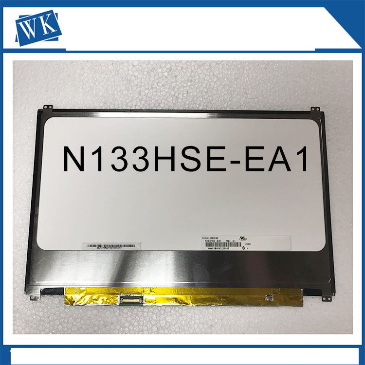 Free Shipping N133HSE-EA1 N133HSE-EA3 1920*1080 eDP 30pin For asus UX32 UX32VD UX31 UX31A UltraBook Laptop LCD Slim LED screen free shipping nv156fhm n42 laptop lcd screen display for p50 1920 1080 edp 00ht920
