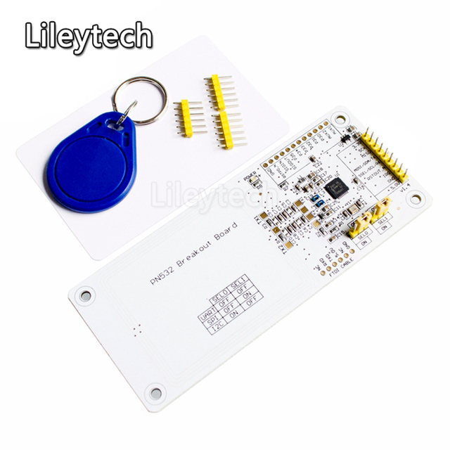 1SET Near Field Communication NFC development board PN532 Breakout Board  RFID card reader-in Replacement Parts & Accessories from Consumer  Electronics