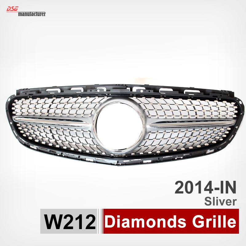 buy 2014 mercedes w212 diamond grill for. Black Bedroom Furniture Sets. Home Design Ideas