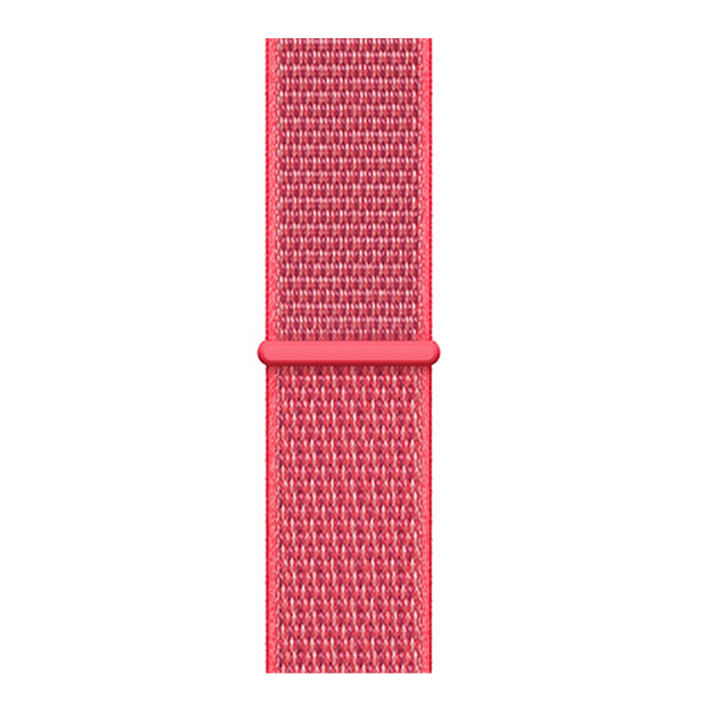 Image 5 - Nylon woven Strap for iwatch 3 38mm 40mm band 42mm 44mm watch band for i watch 4 replacement strap-in Smart Accessories from Consumer Electronics