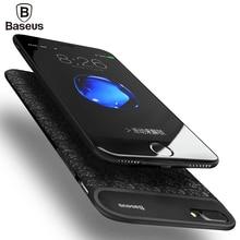 BASEUS 5000/7300 мАч Батарея Зарядное устройство чехол для iPhone 7/7 Plus Ultra Slim Мощность Bank Дело внешняя резервный зарядки чехол