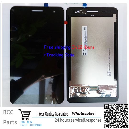 A++ quality For Huawei Honor Play Mediapad T1-701 T1 7 LCD display+Touch screen Panel Digitizer in stock!Tested ok!Free shipping