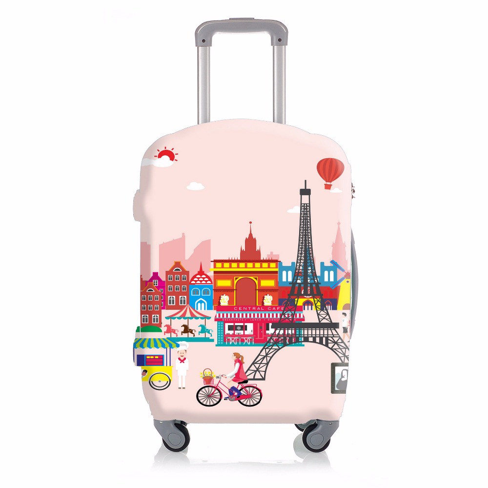 Elastic Tower Luggage Protective Cover For 20 to 30 inch Trolley Suitcase Protect Dust Bag Case Travel Accessories Supplies