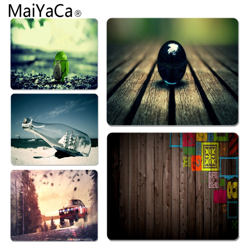 MaiYaCa Vintage Cool Different nature Office Mice Gamer Soft Mouse Pad Size for 180x220x2mm and 250x290x2mm Rubber Mousemats