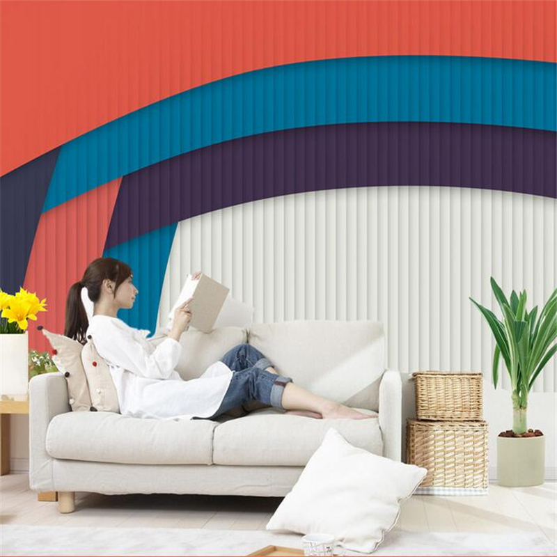 Custom 3d Wallpaper Living Room Vintage Behang Photo Wall Paper Embossed Non-Woven Kitchen Bedroom Study TV Background Wallpaper