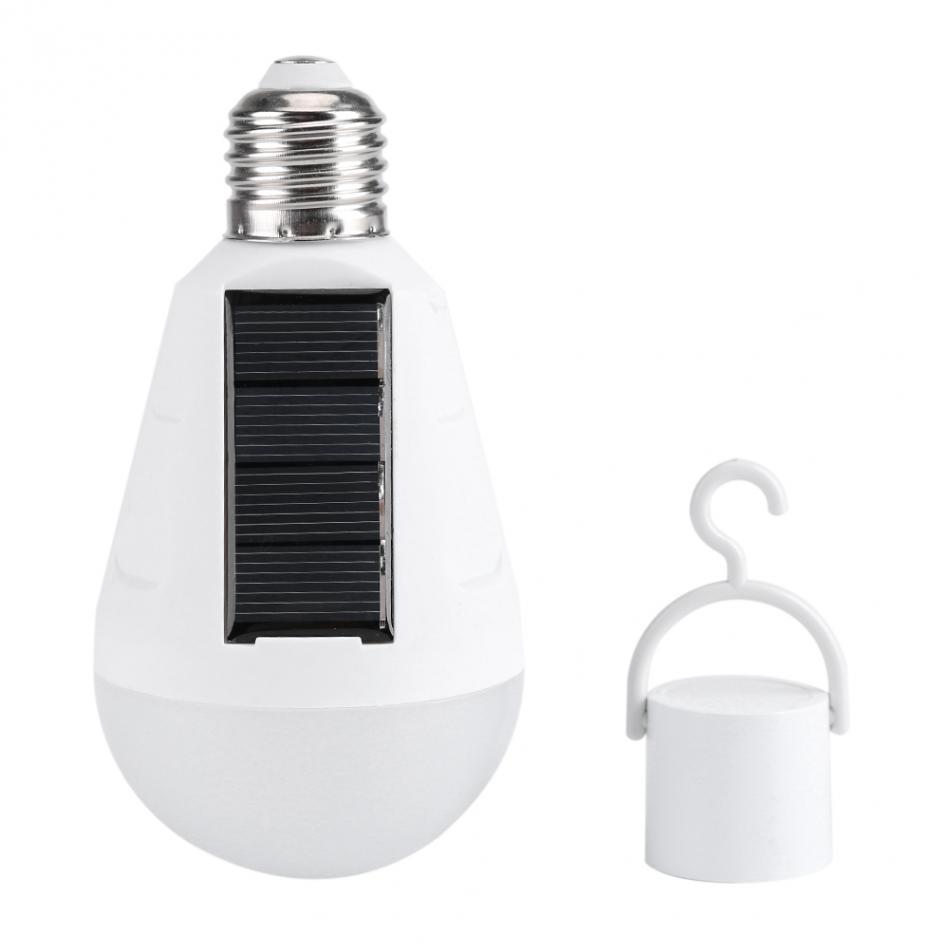 7W 16 LED Solar LED Lamp Light Bulb For Garden Pavilion Emergency Lighting Lamp Constant Current Type