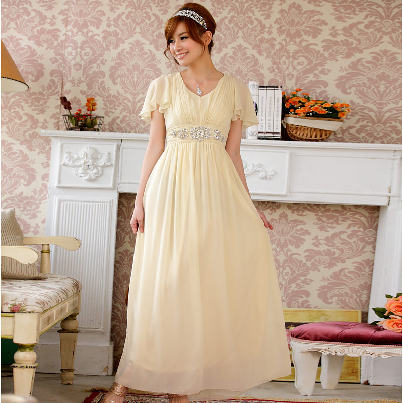 F3xl Plus Size New Luxury Stock Wedding Crystal Dinner Party