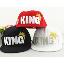 Fashion Children Baseball Caps Crown Embroidery King Kids Boys Hats New baseball Cap Summer Outdoor Sunhat For Kid Girl