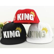 Fashion Children Baseball Caps Crown Embroidery King Kids Boys Hats New baseball Cap Summer Outdoor Sunhat For Kid Girl