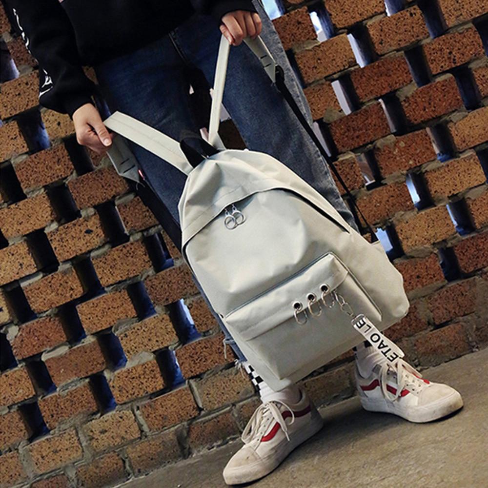 meninas senhoras adolescentes sacos de viagem casual bagpack