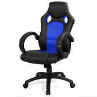Racing Synthetic Leather Internet Cafe Computer Game Chair Comfortable Household Office Furniture Home Lift Rotating Fixture