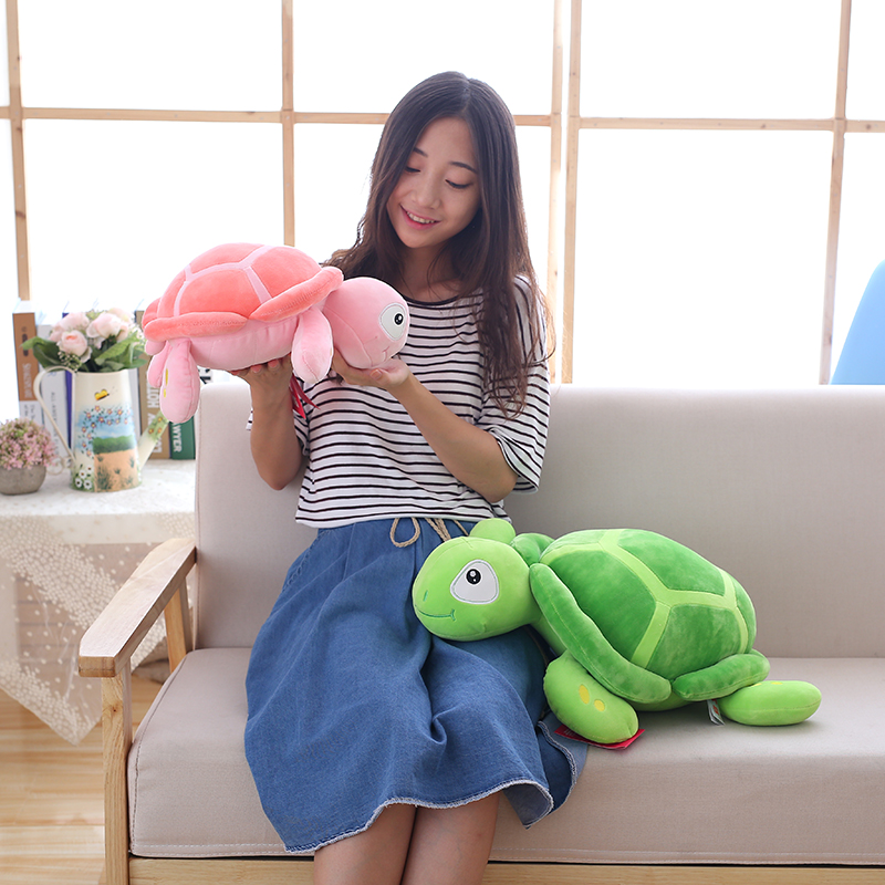2017 New arriving 40cm Big Eyes Turtle Plush Toy Turtle Doll Turtle Kids As Birthday Christmas Gift Free shipping arriving in avignon