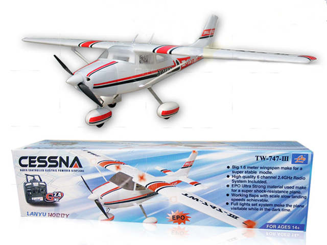 US $246 0 18% OFF 2016 large rc plane model 747 3 1560MM Easy Plug 30A  Switch mode BEC brushless ESC red white arrow rc foam plane vs Slick 70-in  RC