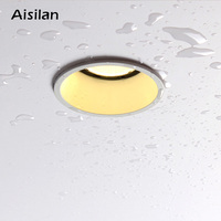 Aisilan Recessed LED Modern Waterproof Downlight Angle Adjustable Built in LED Spot light AC90 260V 7W for Indoor Lighting