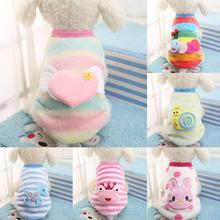 b6f17c1a4 LumiParty Puppy Pet Dog Cat Clothes Cute Cartoon Animal