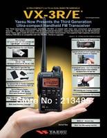 Yaesu VX 3R Ultra compact Dual Band Handheld FM Transceiver