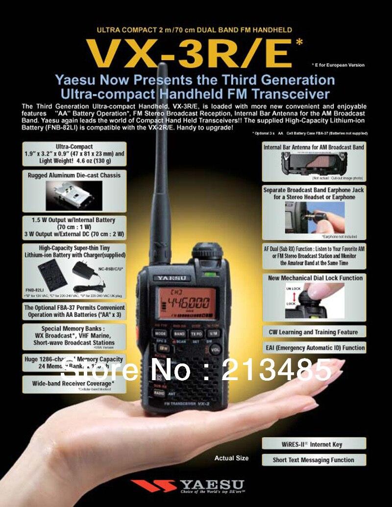 Cargador Para Yaesu VX-2 VX-2E VX-2R VX-3R VX-3RE Nuevo Batería