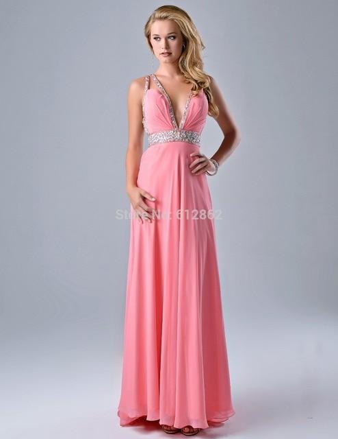 Vestidos largos fiesta rosa