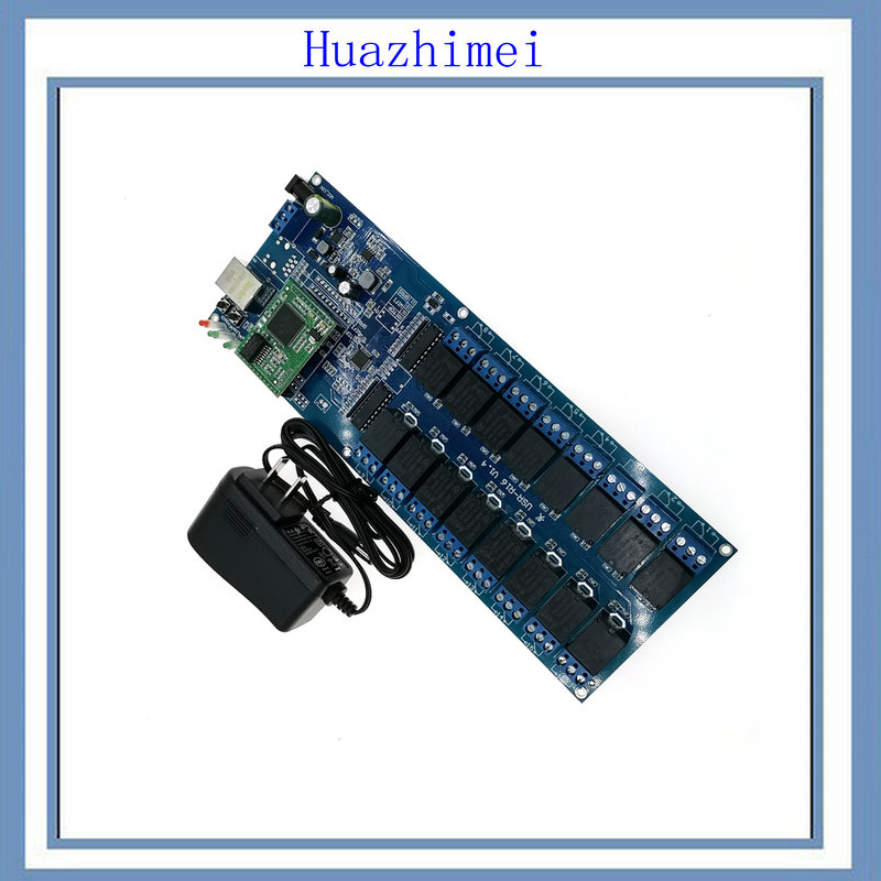 1PCS/LOT USR-R16-T 16-way relay module industrial grade 12V network relay control board relay to network hot new relay 8980809780 hf3511 12 l 1513006728 1pcs lot