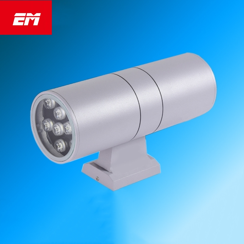High power up down IP65 Waterproof Outdoor Wall Light Cylinder Wall Lamp Led Wall Sconce Light Fixtures For Garden ZBD0018