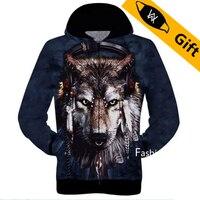 Baeybe S To 2XL Cat Dog Wolf Leopard Tiger Monkey Eagle Animal 3D Printed Men Women