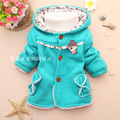 2016 autumn winter children clothing baby girl outwear kids top outwear sweaterwear child hoodies  girl coat &jacket  WY-309