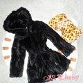 Популярные новый норки пальто, Тепло норки волос борьба норки прекрасные девушки норковая шуба, Ребенок зимние пальто пальто бесплатная доставка CFBB06N