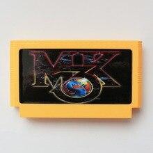 Mortal Kombat Subor III 60 Pin Tarjeta de Juego De 8 Bits Jugador Del Juego