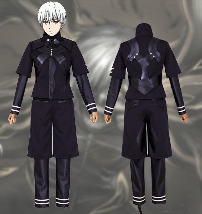 Tokyo Ghoul Kaneki Ken Jumpsuit Battle Uniform Anime Cosplay Costume Pants Jackets Coat