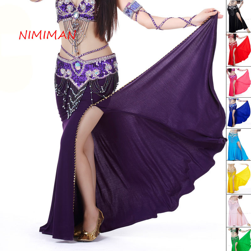 2018 New Arrivals Belly Dance Skirts Lady Indian Dress Women Belly Dancing Gypsy Skirt For Dancers Female NMMQ9004