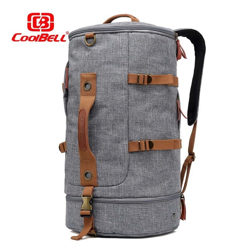 Coolbell 2017.11 Newest Fashion backpack for 17.3 inch notebook computer Laptop bag Sports leisure Mountaineering bag Drum pack