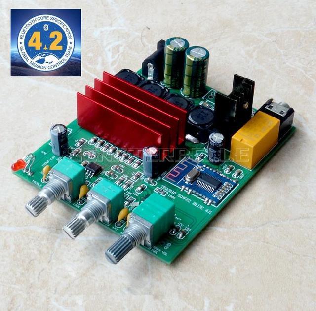DP3 TPA3116D2 2.0 Digital Power Amplifier Board 50W*2 Bluetooth 4.2