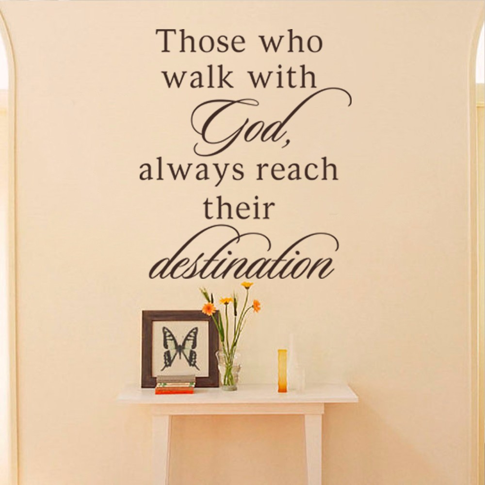 Those Who Walk With God,Always Reach Their Destination Bible Verse ...