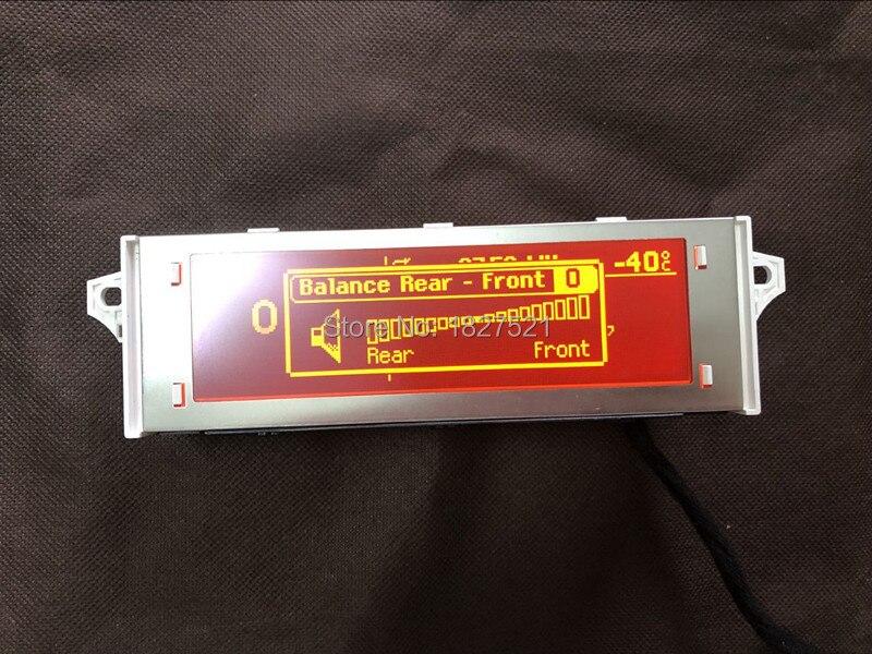 Écran d'affichage de Menu USB Bluetooth 4 de haute qualité d'origine moniteur rouge 12 broches pour Peugeot 307 407 408 citroën C4 C5 - 5