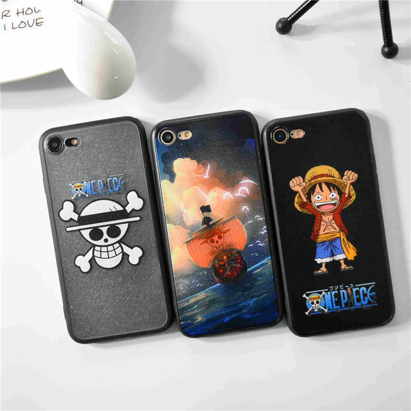 One Piece Luffy Straw Hat Pirates Hard Cover Case For iphone 5s SE ...