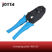 цена на WX-01 crimping tool crimping plier 2 multi tool tools hands Ratchet Crimping Plier (European Style)