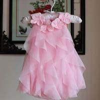 2016 Summer Vestidos Baby Girl Dresses Princess Children Dress Lace Baby Clothing Kids Girl Dress Brand
