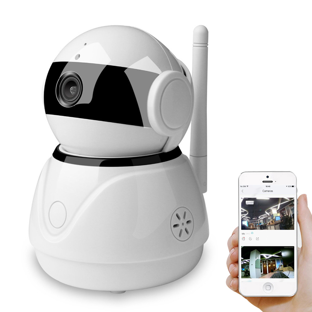 BESDER Pan Tilt Smart Home IP Camera Wi Fi Cloud Storage Two Way Audio WiFi IP