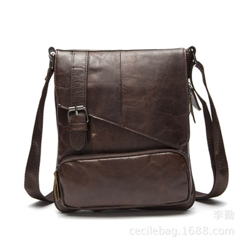 YISHEN Casual Retro Genuine Cowhide Leather Men Messenger Bags Small Flap Bags Male Shoulder Crossbody Bags Travel Bags MLT8239 neweekend genuine leather bag men bags shoulder crossbody bags messenger small flap casual handbags male leather bag new 5867
