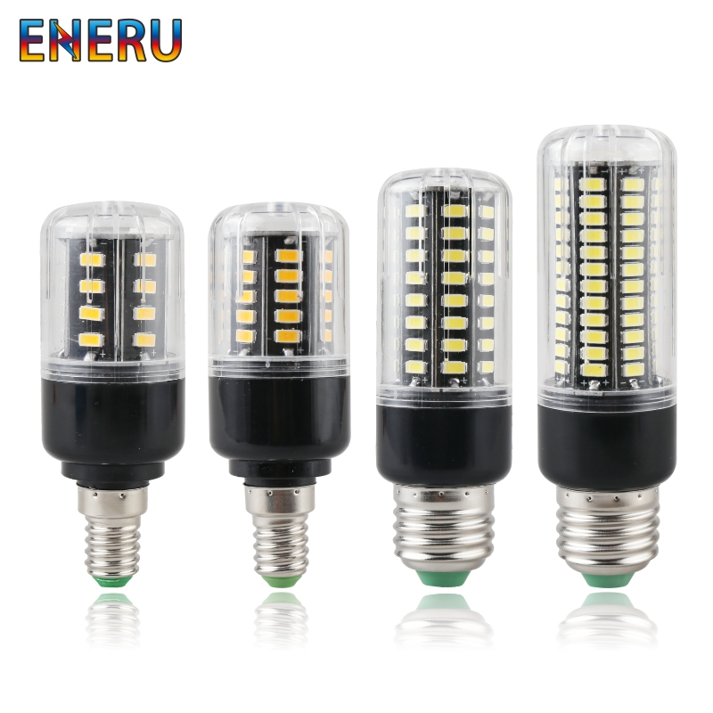 E27 E14 LED Bulb 3.5W 5W 7W 9W 12W 15W 20W Light 220V 110V Corn SMD 5736 No Flicker Lights AC85-265V Lamp