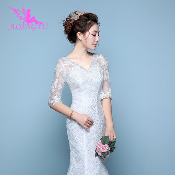 ... AIJINGYU 2018 v-neck free shipping new hot selling cheap ball gown lace  up back 6b884e3861bd