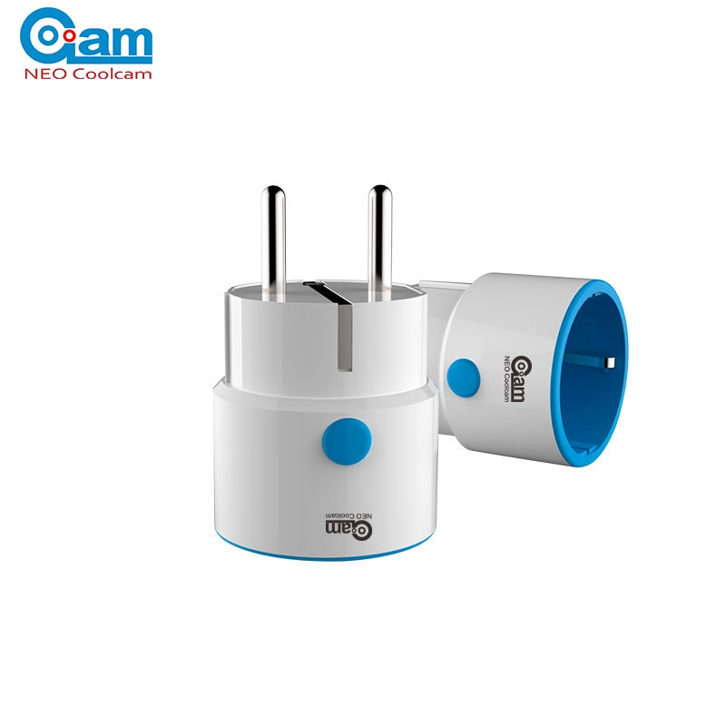 NEO COOLCAM Z-vague NAS-WR02ZE UE Smart Plug Power Socket Domotique Système D'alarme Maison Compatible Avec Z-vague 300 et 500 Série