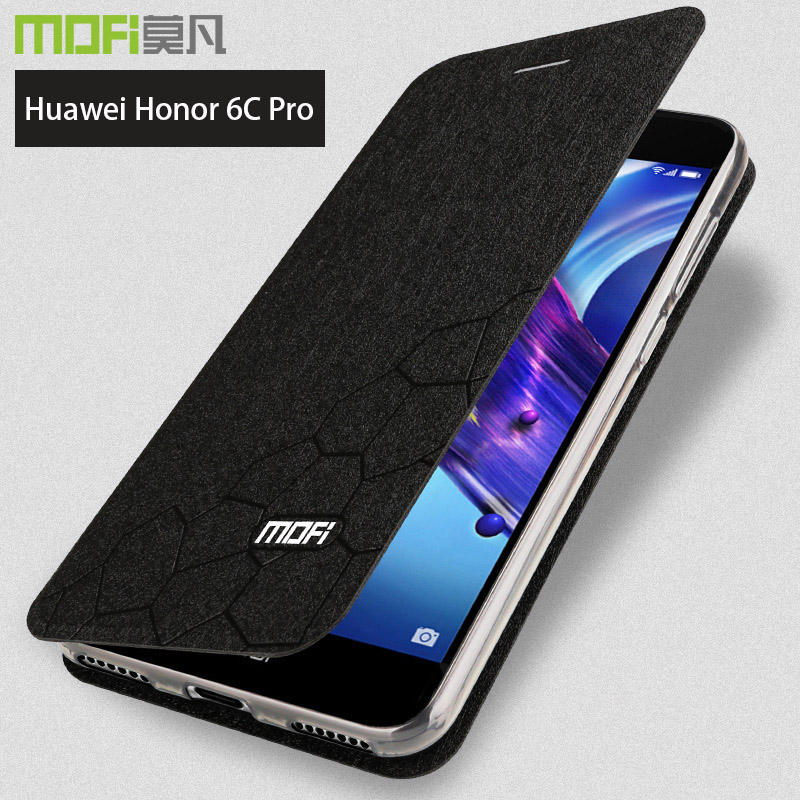 for huawei honor 6c pro case cover honor 6cpro flip case coverstand coque glitter mofi luxury. Black Bedroom Furniture Sets. Home Design Ideas