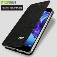For Huawei Honor 6c Pro Case Cover Honor 6cpro Flip Case Coverstand Coque Glitter Mofi Luxury