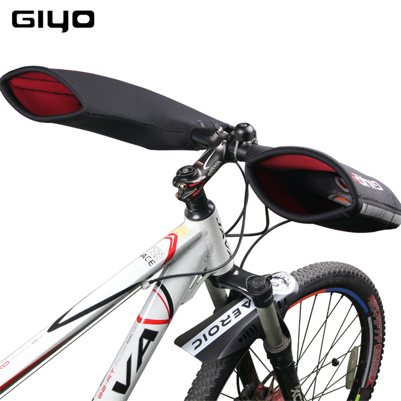 Giyo Bicycle Handlebar Gloves Cycling Bike Neoprene Bar Ends Bar