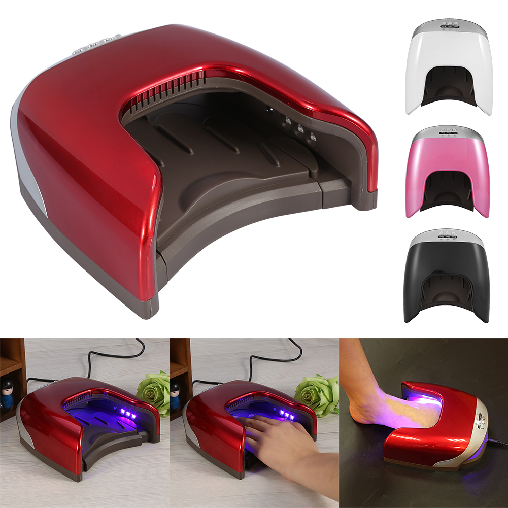 Clearance! 48W Nail Lamp 24Leds UV Light Auto Infrared Sensor Nail Dryer Gel Curing Polish Lamp Dryer Machine For Hands & Feet