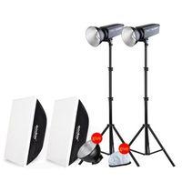 Godox SL200W Kit Weiß Version LCD Panel LED Video Licht Drahtlose Steuerung für Hochzeit Journalistic Video Aufnahme Foto Studio|lcd light panels|godox studioled for video -